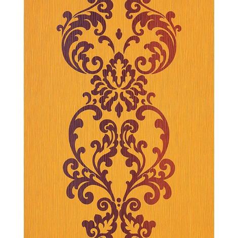 Wallpaper wall modern art baroque ornament EDEM 178-21 yellow brown pearl 5.33 sqm (57 sq ft)