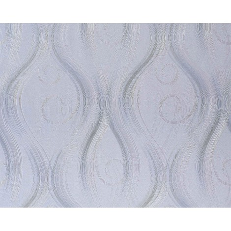 Wallpaper wall non-woven curved lines EDEM 954-27 embossed stripes decor light pastel lilac 10.65 sqm (114 sq ft)