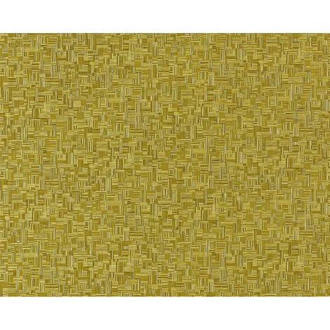 Wallpaper wall non-woven embossed bamboo EDEM 951-28 deluxe wood look mosaic decor green olive-green 10.65 sqm (114 sq ft)