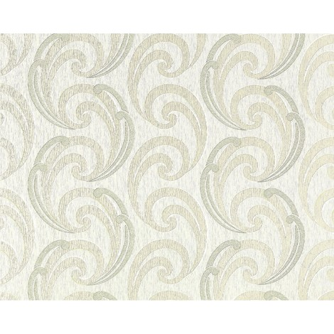 Wallpaper wall textured curved lines EDEM 915-33 XXL non-woven embossed pattern beige bronze 10.65 sqm (114 sq ft)