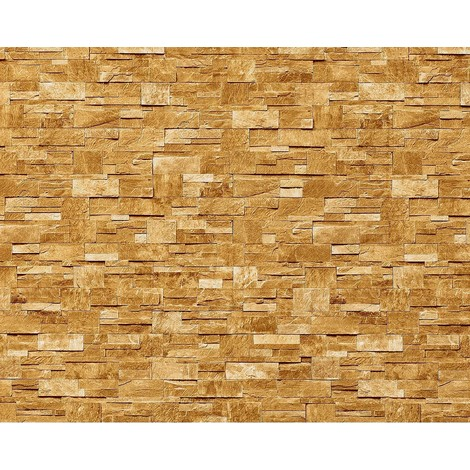 Wallpaper wall XXL non-woven EDEM 918-33 textured dressed natural stone decor sand beige 10.65 sqm (114 sq ft)