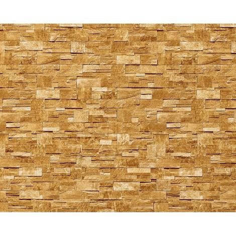 Wallpaper wall XXL non-woven EDEM 918-33 textured dressed natural stone decor sand beige 10.65 sqm (114 sq ft)