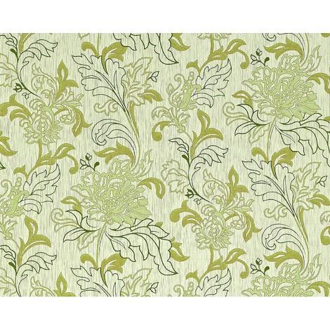 Wallpaper wall XXL textured floral look EDEM 604-95 non-woven flowers green light green gold 10.65 sqm (114 sq ft)