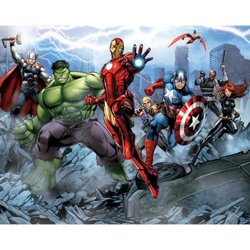 Walltastic Papier Peint Avengers 43848