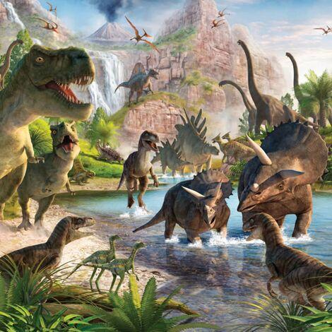 Walltastic Photo Wallpaper Dinosaur Land 41745