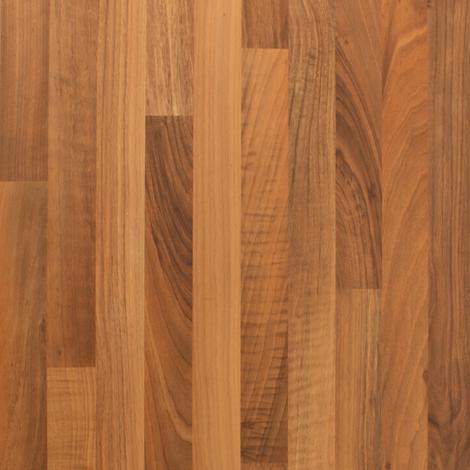 Walnut Block Effect Laminate Edging Strip 1530mm X 45mm