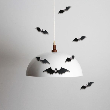 Walplus 3D Bats Wall Decor