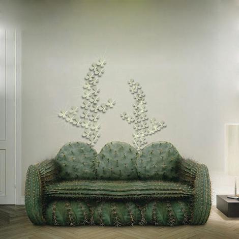 Walplus 3D Luxury Crystal Flowers - Beige