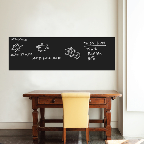 Walplus Blackboard Wall Sticker with Chalks