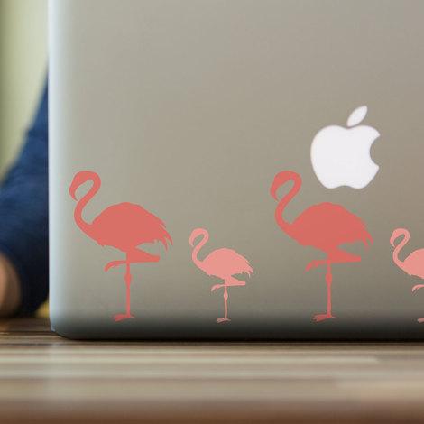 Walplus Pink Flamingos Wall Sticker