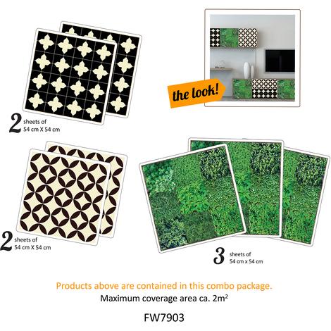 Walplus Victoria and Giardino Furniture Wrap Self-Adhesive Decal Home accessories