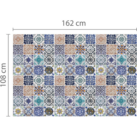 Walplus Wall Decals Mosaic Tile Patterns x 6 pcs