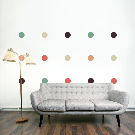 Walplus Wall Sticker Decal Dots