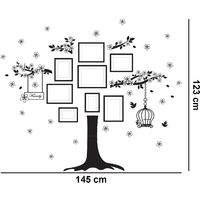 f685d762f1 Walplus Wall Sticker Decal Huge Family Tree with Swarovski Crystals