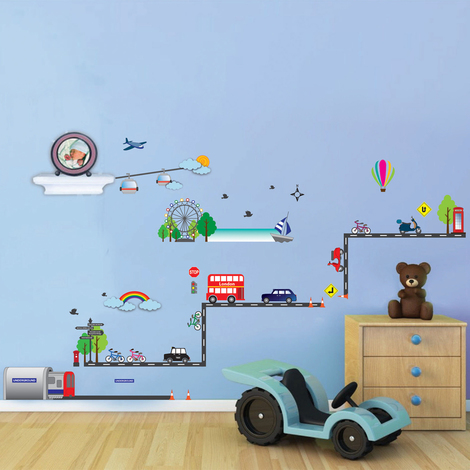 Walplus Wall Sticker Decal London Transport