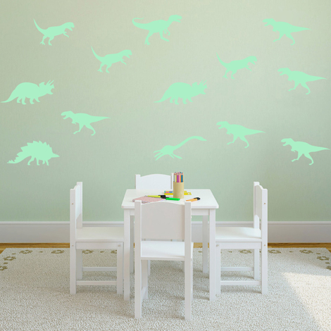 Walplus Wall Stickers Dinosaur Glowing Sticker Murals Decals