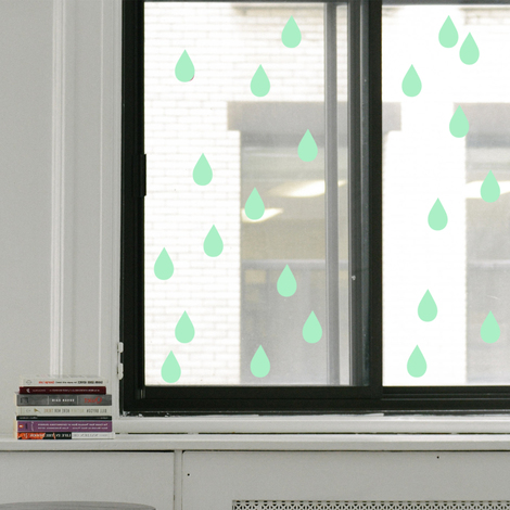 Walplus Wall Stickers Raindrop Glowing Sticker Murals Decals