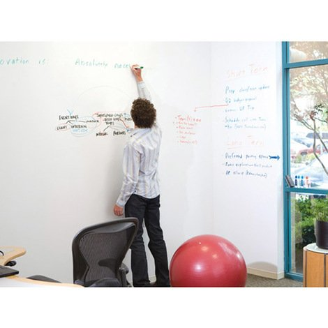 Walplus Whiteboard Wall Sticker with Marker Pens