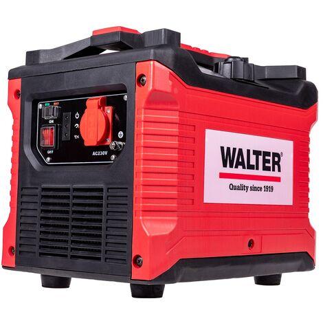 WALTER Inverter Stromerzeuger 1000W, Notstromgenerator, Notstromaggregat, Stromerzeuger, Stromaggregat