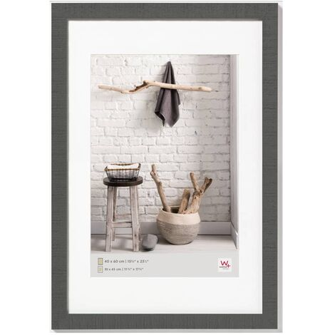 Walther Design Cadre photo Home 40x60 cm Gris