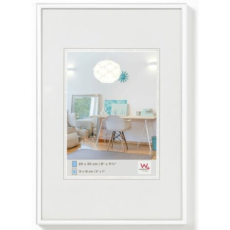 Walther Design Cadre photo New Lifestyle 40x60 cm Blanc
