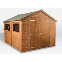 Waltons 10ft x 6ft Groundsman Tongue and Groove Apex Garden Shed