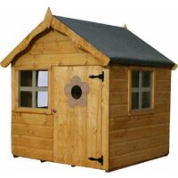 Waltons 4ft x 4ft Honeypot Snug Apex Wooden Playhouse