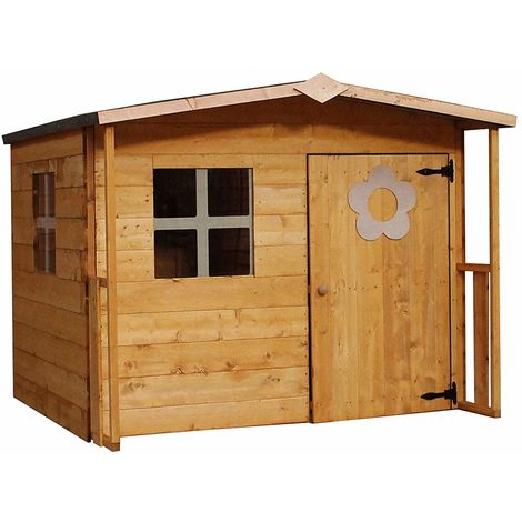 Waltons 5ft x 5ft Honeypot Rose Apex Wooden Playhouse