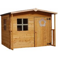 Waltons 5ft x 5ft Honeypot Rose Apex Wooden Playhouse