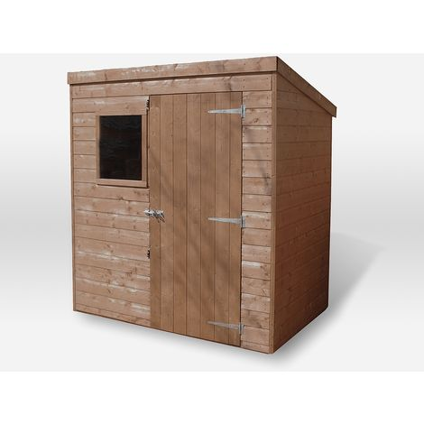 Waltons 6ft x 4ft Tongue and Groove Pent Wooden Shed