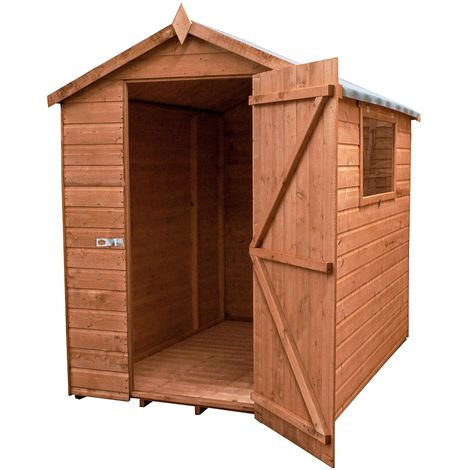 Waltons 7ft x 5ft Groundsman Tongue and Groove Apex Garden Shed