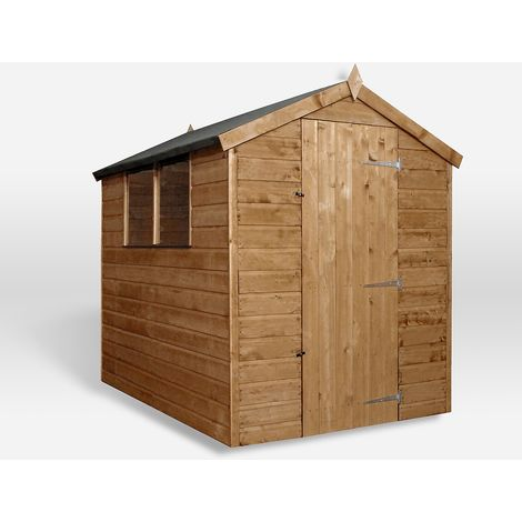 Waltons 7ft x 5ft Tongue and Groove Apex Wooden Shed
