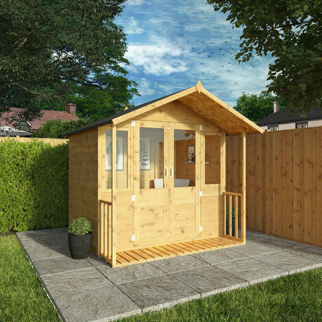 Waltons 7ft x 7ft Bournemouth Wooden Summerhouse