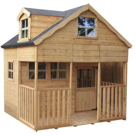Waltons 7ft x 7ft Honeypot Dormer Apex Wooden Playhouse