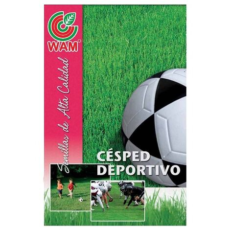 WAM Semillas de Césped ESPORTWAM Deportivo y Pisoteo Intenso, Tepes, 1 kg