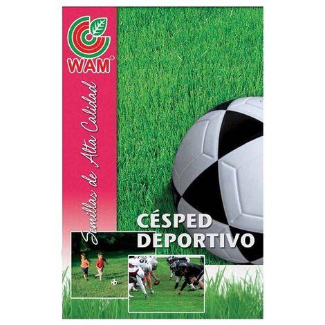 WAM Semillas de Césped ESPORTWAM Deportivo y Pisoteo Intenso, Tepes, 25 kg