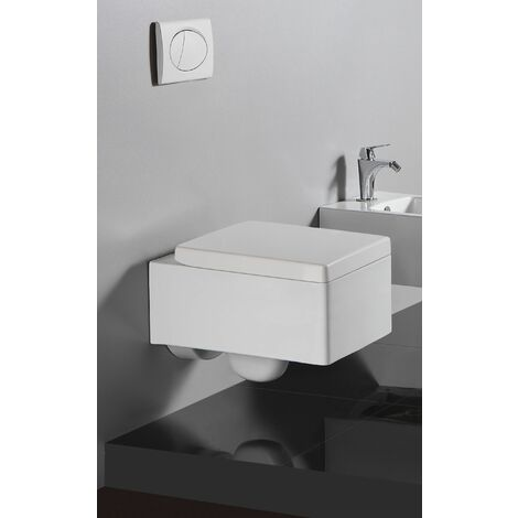 Wand-WC inkl. Soft-Close Sitz WH-6171