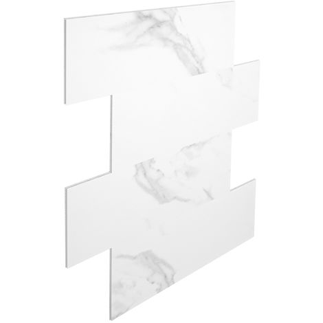 Wandfliesen ohne Fugen | Bad | SPC Vinyl Fliesen | 75x30cm | PS34