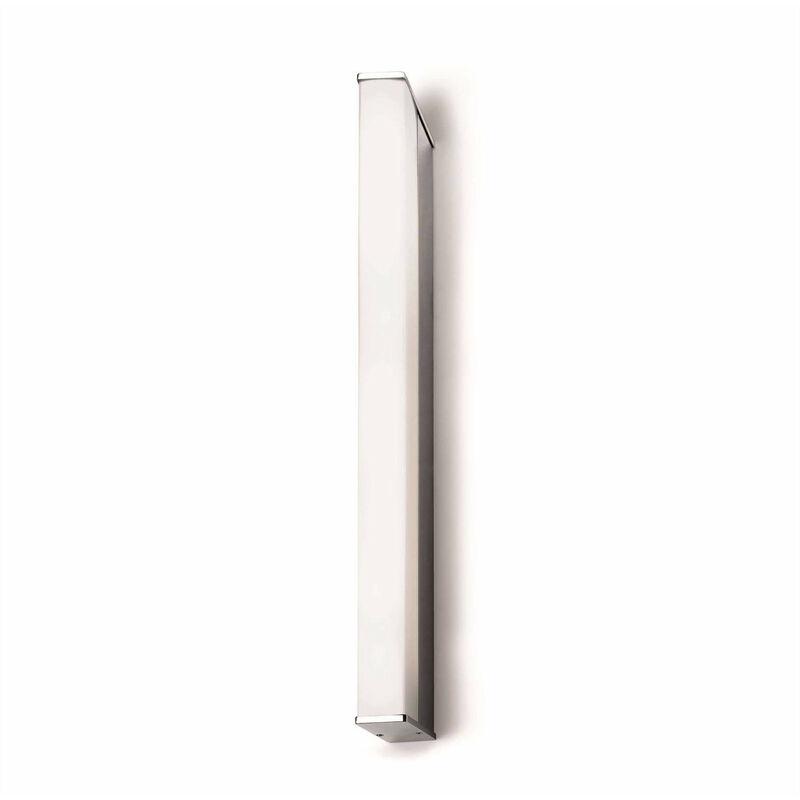 Wandleuchte 14W Toilette Q, Aluminium und Acryl, 58 cm