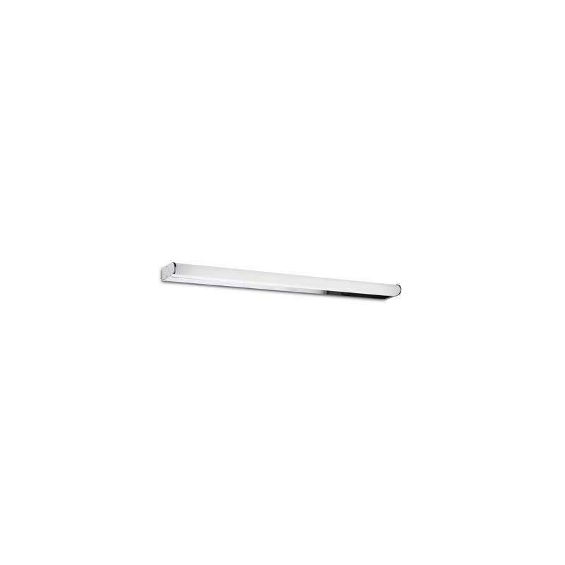 Wandleuchte 21W Toilette, Aluminium und Acryl, 88 cm