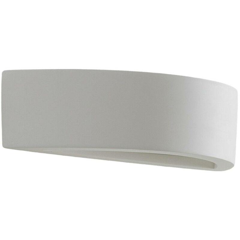 LED Wandleuchte Helmi Glas Glasschirm Halbrund Lampenwelt Wandlampe Dezent LED