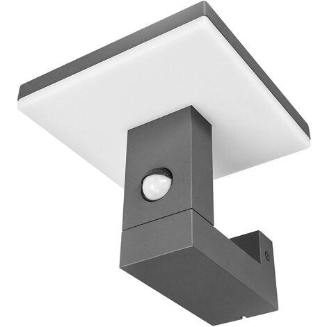 Relativ Wandleuchte außen aus Aluminium mit Bewegungsmelder von Lampenwelt - KB46