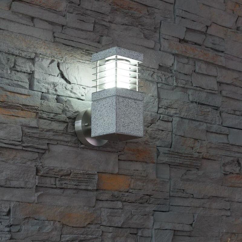 Click-licht.de - Wandleuchte La Mer aus Granit max. 7W E27 Ip44