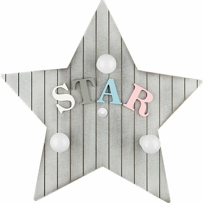 Wandleuchte 'Toy-Star' 3xE14 Ohne Birne [MIM-9293] (MIM-9293) - GREENICE