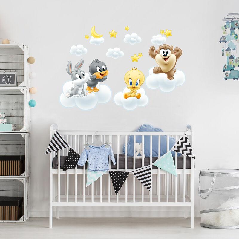 Wandtattoo Baby Looney Tunes auf Wolken Größe: 140cm x 210cm - 0-0 ...