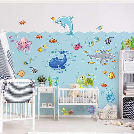 Wandtattoo Kinderzimmer Unterwasserwelt Fisch Set Grosse Hxb 120cm X 180cm 0 0 706024