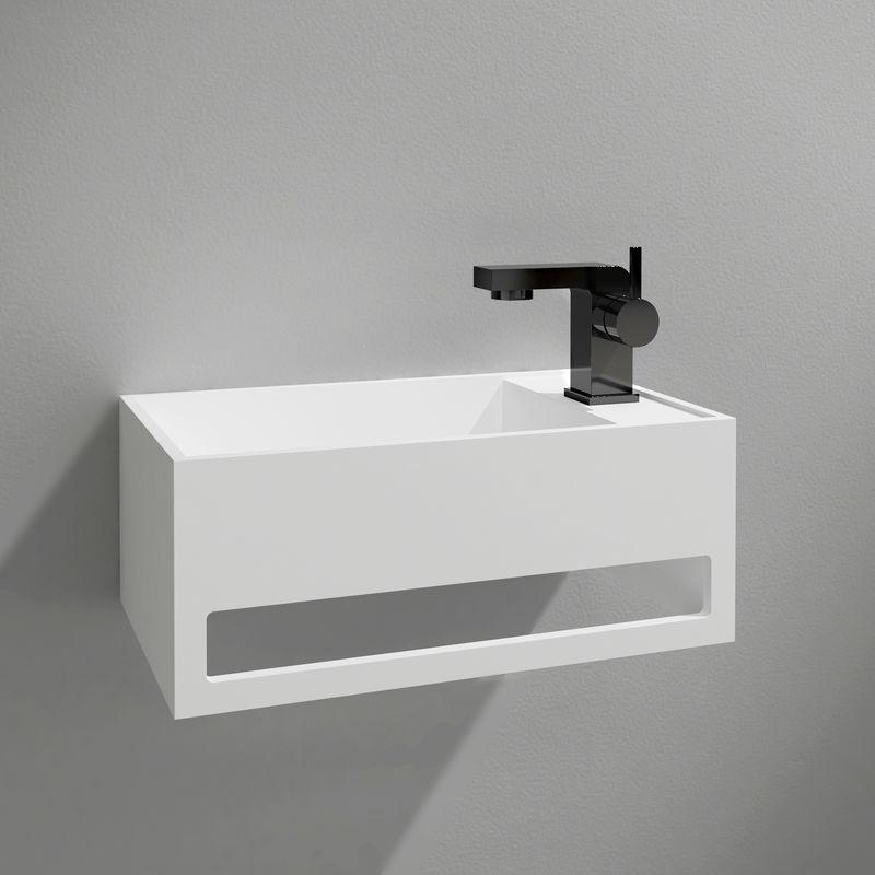 Waschbecken Mit Handtuchhalter The Homey Design