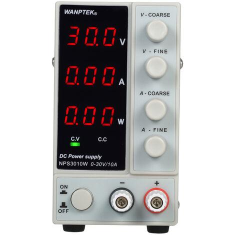WANPTEK NPS3010W 0-30V 0-10A, conmutacion de alimentacion de CC