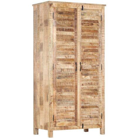 Wardrobe 90x50x180 cm Solid Mango Wood
