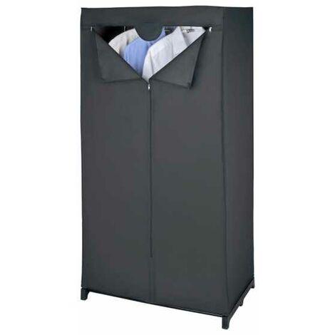 Wardrobe Deep Black WENKO
